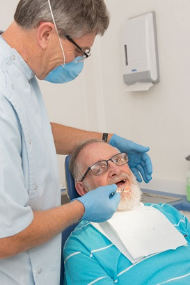 Denture repairs underway in Adelaide